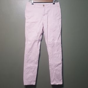Urban outfitters pink skinny chinos